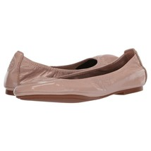 Tory Burch Eddie Soft Nappa Pink Patent Leather Ballet Flats Sz 6 NIB - $172.76