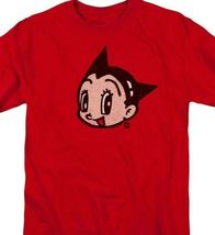 Astro Boy t-shirt face logo Retro 80's TV cartoon graphic cotton tee ABOY106 image 3