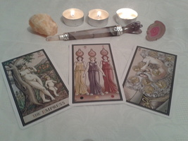 The Alchemical Tarot Reading With Three Cards. One Question - $13.99