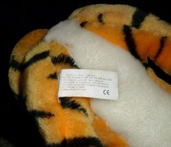 "18"" VINTAGE DISNEY ALADDIN RAJAH ORANGE BLACK TIGER STUFFED ANIMAL PLUSH TOY BIG image 4"