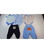 Duck Duck Goose Carters Faded Glory Baby Boys 3-6M One Piece Pants 5 Pie... - $10.88