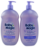 Baby Magic 30 Oz Calming Made With Real Lavender & Chamomile Baby Bath 2... - $18.11