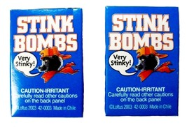 Stink Bombs Glass Viles Smells Bad Rotten Egg Fart Joke Gag Gift Trick P... - $6.00