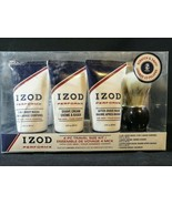 IZOD NEW 4 Piece Travel Size Kit Perform Body Wash Shave Cream After Sha... - $6.92