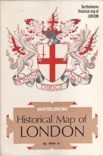Bartholomews Historical Map of London [Paperback] Various