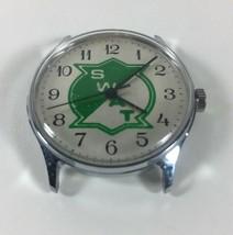 Vintage SWAT Watch College? Logo 1990 Working Wind Up 33mm - $31.68
