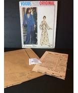 Vogue Paris Sewing Pattern Vtg 1064 Christian Dior Loungewear Pajamas Un... - $47.54