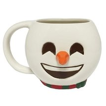 Christmas Emoji Mug - Snowman - $15.44