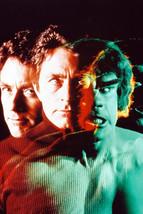 Bill Bixby Turns The Incredible Hulk Color 18x24 Poster - $23.99