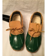 Weatherproof Since 1948 Green Daria Leather Duck Boat Shoes  Size 6 - $27.85