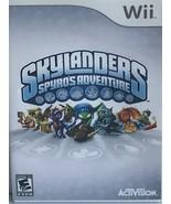 Skaylanders Spyro Adventure- Nintendo Wii Games - $20.00
