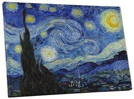 """Pingo World 0807Q3X0X8Y """"Van Gogh Starry Night"""" Gallery Wrapped Canvas W... - $158.35"""