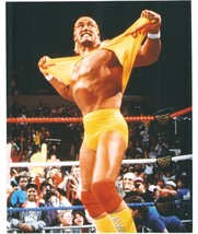 Hulk Hogan Shirt Vintage 24X30 Color Wrestling Memorabilia Photo - $41.95