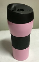 Longaberger Stainless Steel Travel Mug / Cup - New - Pink HOH - $14.70