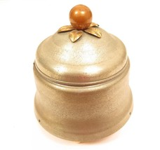 Unusual Antique Silver Toned Metal & Wood Vintage Musical Jewelry Box*A585 - €19,07 EUR