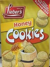 Lieber's Honey Cookies Non-Gebrokts Gluten-Free Kosher For Passover 5.3 oz