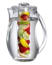 BPA free Transparent Pitcher for Fruit Infusion Flavor Citrus Wedges Her... - $35.49