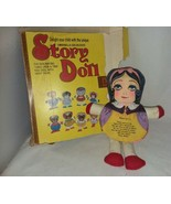 1978 Dan Dee Story Doll Snow White with Many Faces 5 of them 9 Inch Bad Box - $16.99