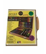 Art 101 Art & Creative Set In Wooden Case New 78 Pieces Ages 6 & Up - $24.99