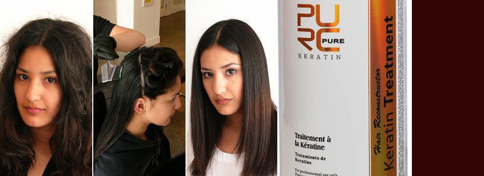Brazilian Keratin 12% Formaldehyde Hair Straightening Treatment Repair 1000ml image 6