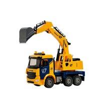 Yoowon Toys Titan Excavator Truck Sound Lights Vehicle Heavy Equipment Toy Car image 1