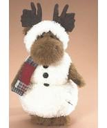 "Boyds Bears ""Meltin Q. Flurries"" 12"" Moose Snowman- #904692-  New- 2008 - $79.99"