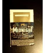 CIGARETTE BOX EMPTY PACK USA MARLBORO GOLD CHASING MIDNIGHT Virginia tax... - $3.75