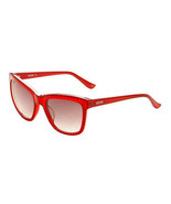 Womens Moschino MO759S Designer Summer Sunglasses Shades Red Frame Gradi... - $72.29