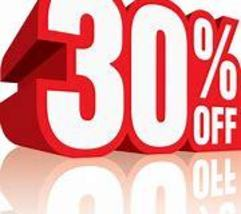 30% off sale ends On 3/18.. Get what you want and need while you can!  - $0.00