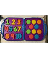 Sesame Street Playskool COOKIE MONSTER'S On the Go Numbers - COMPLETE SET - $22.80