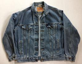 Levi's Blue Jeans Jacket Denim Trucker 70507-0389 - Size Large L - $69.29