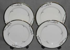 Set (4) Gorham Fine China Manhattan Pattern Dinner Plates - $59.39