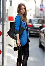 Womens Slim Fit Long Sleeve Jacket Business One Button Female Blazer Top... - $15.95