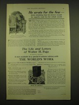 1924 Doubleday, Page & Co. Ad - He wrote for the few - $14.99