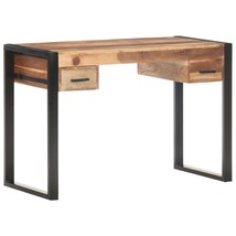 "Desk 43.3""x19.7""x29.9"" Solid Wood with Sheesham Finish - $365.00"