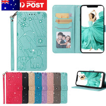 K18) Leather Wallet Flip Magnetic Back Cover Case For Huawei Honor - $65.49