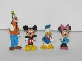Set of 4 Mickey Mouse & Friends Figures PVC - $12.85