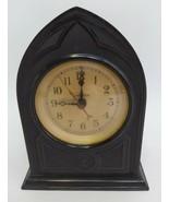 Warren Telechron B-2 M1 Gothic Mantle Clock WORKS Bakelite Cathedral Ele... - $98.99
