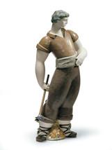 Lladro 01012465 Farmer Porcelain Figurine Gres New  - $395.00