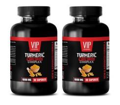 antioxidant supplement - TURMERIC CURCUMIN 1000MG 2B - turmeric capsules - $46.74