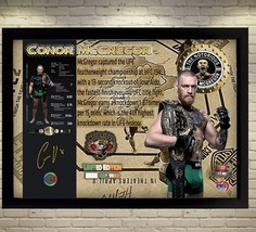 Conor McGregor champion MMA UFC signed autograph Memorabilia picture Framed - $19.27