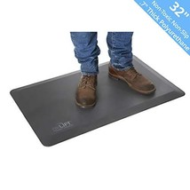 "Seville Classics AIRLIFT 32"" Anti-Fatigue Standing Desk Comfort Mat - Antimicrob"