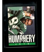 1985 TOPPS #339 BOBBY HUMPHERY NM RC ROOKIE NY JETS - $1.24