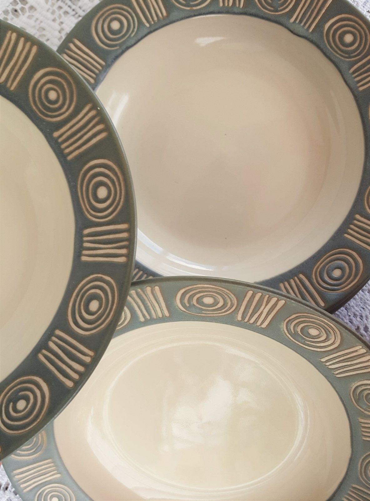 Set of .3 Pottery Barn Stoneware Rim Soup and 50 similar items