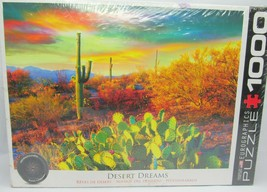 Eurographics Scenic Desert Dreams 1000 Piece Jigsaw Puzzle HDR Photography 19x26 - $22.80