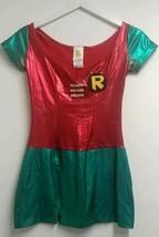 Rubies Womens Sexy Robin Costume Dress Batman DC Comics Teen Titans Shiny  XS - $17.42
