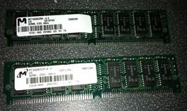2x Micron MT16D832M-6X 32MB 60ns EDO SIMM Designjet 700 755C MEMORY