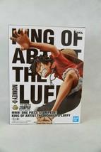 One Piece: Stampede King of Artist Monkey D. Luffy Statue Figure Banpresto - $23.74