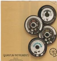 Quantum Instruments Fold Out Manual Form No. 81-1 - $5.00