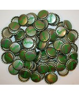 Soda pop bottle caps Lot of 100 SPRITE #1 Coca Cola plastic lined new ol... - $24.99